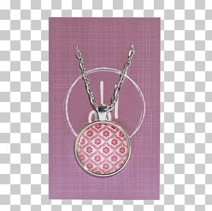 Charms & Pendants Necklace Gold Glass Vase With Pink Flowers PNG