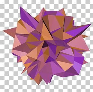 Paper Art Origami Petal PNG