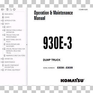 Dump Truck Semi-trailer Truck Document PNG