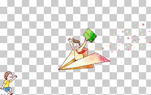 Paper Plane Airplane PNG