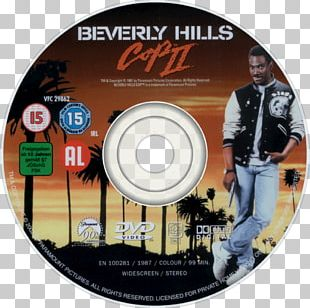 Beverly Hills Cop Compact Disc DVD Film PNG