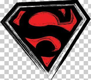 Superman Logo Grunge PNG