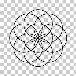 Symbol Celtic Knot Overlapping Circles Grid Sacred Geometry PNG