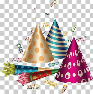 Party Hat Birthday Balloon PNG