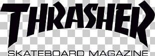 Thrasher Presents Skate And Destroy Skateboarding Magazine PNG