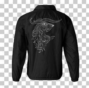 Leather Jacket Hoodie Windbreaker Coat PNG