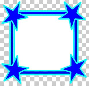 Borders And Frames Frame Star PNG