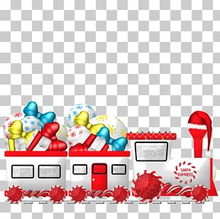 Train Transport Santa Claus Christmas Day Email PNG