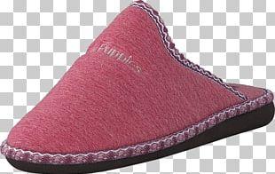 Slipper Shoe Pink Sandal Black PNG