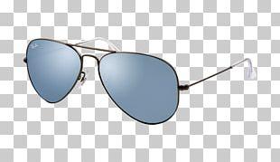 Aviator Sunglasses Ray-Ban Aviator Classic Mirrored Sunglasses PNG