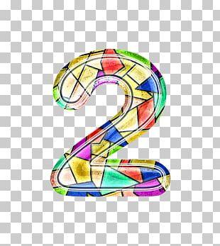 Numerical Digit Graphic Design PNG