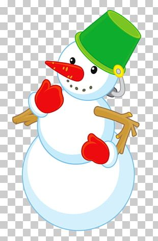 Snowman Christmas Cartoon Winter PNG