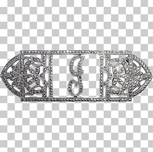 Belt Buckles Metal Silver Rectangle PNG