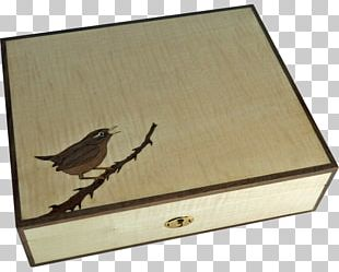 Box Casket Humidor Wren Inlay PNG