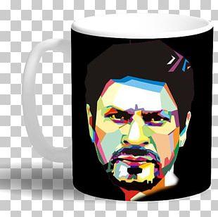 Shah Rukh Khan Happy New Year Coffee Cup Film Producer Mug PNG