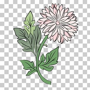 Floral Design Drawing Watercolor Painting PNG
