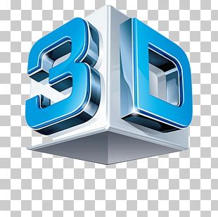 3D Computer Graphics 3D Film Three-dimensional Space 3D Modeling Logo PNG