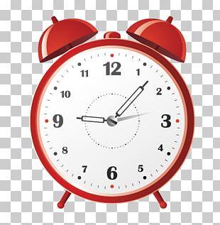 Alarm Clock Stopwatch Illustration PNG