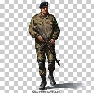 Pakistan Army Military Uniform Soldier PNG