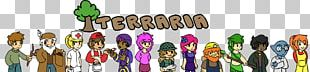 Terraria Non-player Character Drawing Video Game Fan Art PNG