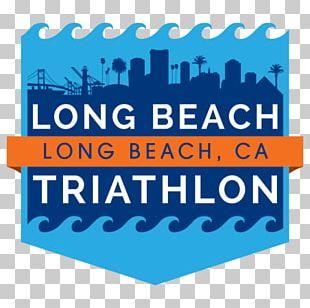 Long Beach Logo Triathlon Font PNG