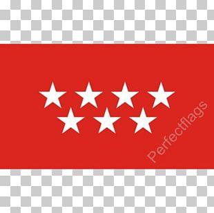 Flag Of The Community Of Madrid Flag Of Spain Flag Of The City Of Madrid PNG