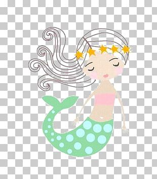 Mermaid Drawing Cartoon PNG