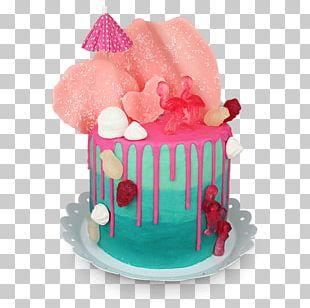 Gummy Bear Torte Birthday Cake Sugar Cake Buttercream PNG