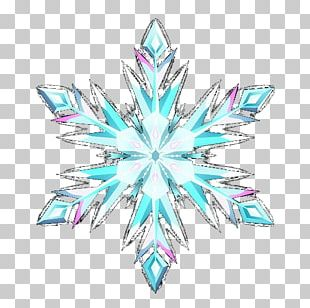 Elsa The Snow Queen Snowflake PNG