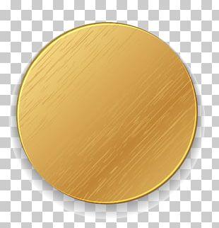 Material Yellow Circle Font PNG
