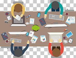 Meeting Flat Design Office Businessperson PNG