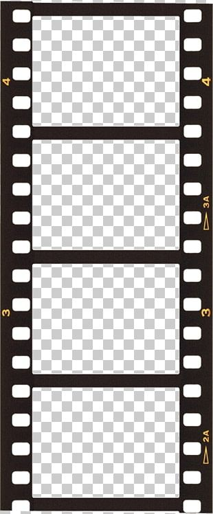Filmstrip Template PNG