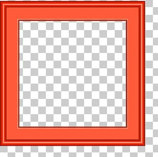 Window Red Frame Pattern PNG