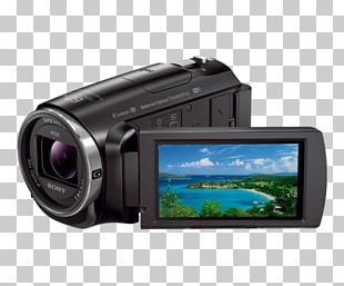 Sony Handycam HDR-CX675 Camcorder 1080p Video Cameras PNG
