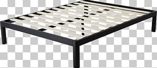 Bed Frame Table Platform Bed Furniture PNG