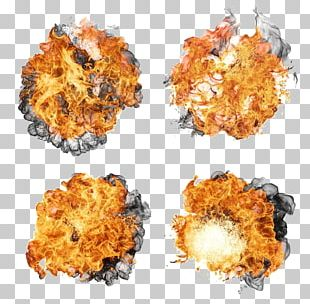 Explosion Flame Fire PNG