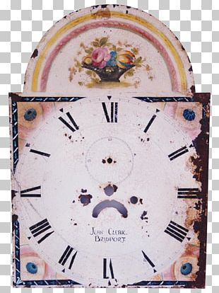 Floral Clock Floor & Grandfather Clocks Clock Face Furniture PNG
