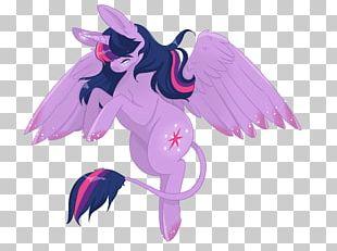Horse Illustration Legendary Creature Supernatural Pink M PNG