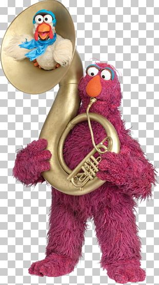 Telly Monster Elmo Cookie Monster Grover Big Bird PNG