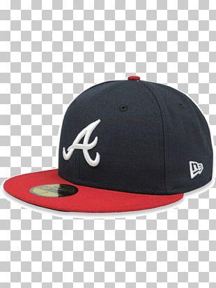 Baseball Cap Atlanta Braves Cleveland Indians 59Fifty New Era Cap Company PNG