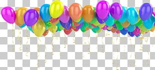 Happy Birthday Greeting & Note Cards Toy Balloon PNG