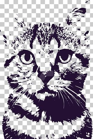 Tabby Cat Whiskers Kitten We Butter The Bread With Butter Tiger PNG
