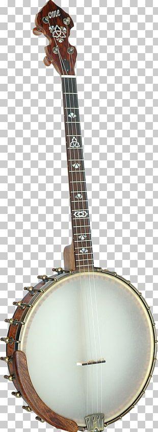 Banjo Guitar Banjo Uke Mandolin Musical Instruments PNG