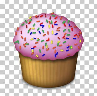 Cupcake Frosting & Icing Emoji Birthday Cake PNG