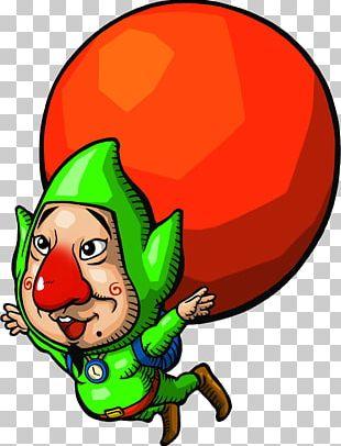 Freshly-Picked Tingle's Rosy Rupeeland Hyrule Warriors Balloon Fight The Legend Of Zelda: The Wind Waker Irodzuki Tingle No Koi No Balloon Trip PNG