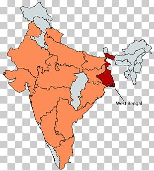 States And Territories Of India SBI PO Exam · 2018 Map PNG