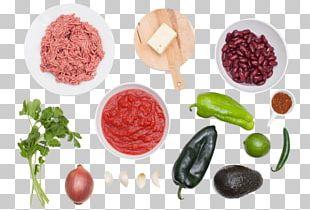 Chili Con Carne Vegetarian Cuisine Chili Pepper Chili Powder Food PNG