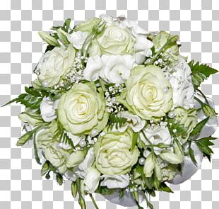 Flower Bouquet Wedding Garden Roses PNG