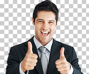 Happy Man Thumbs Up PNG
