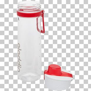 Water Bottles Canteen Red PNG
